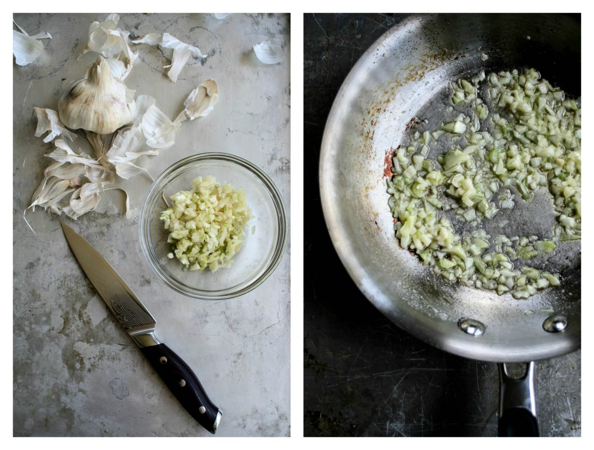 Garlic Collage