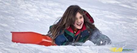 esquiar con niños