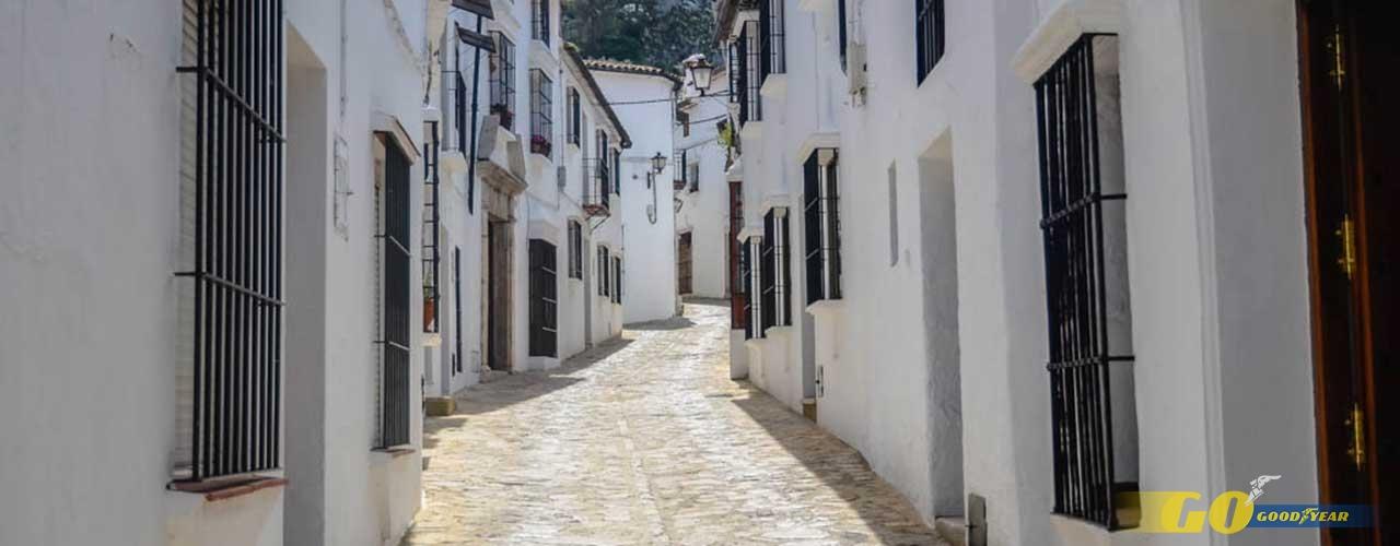 Calle Pueblo Blanco Cádiz - Kilómetrosquecuentan