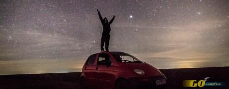 música coche noche