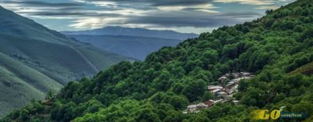 Vista Courel Asturias