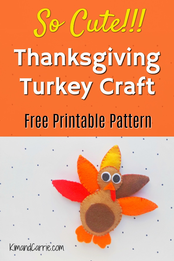 Thanksgiving Turkey Craft for Kids and Adults - Kim and Carrie