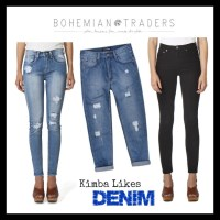 Wardrobe Wednesday | Bohemian Traders Denim
