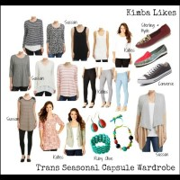 Trans Seasonal Capsule Wardrobe