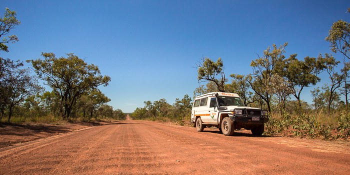 4WD Britz Campervan on the Gibb River Road