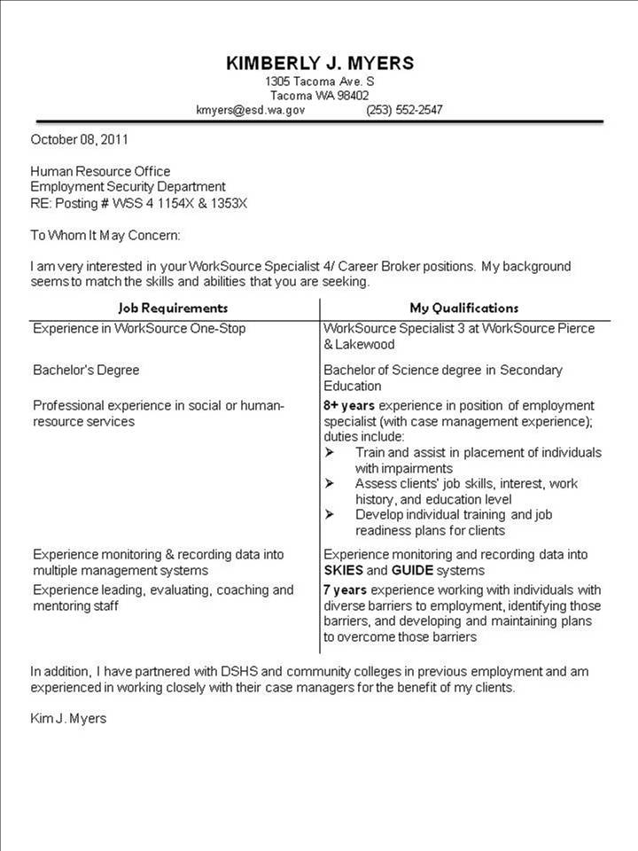 interesting cover letter examples