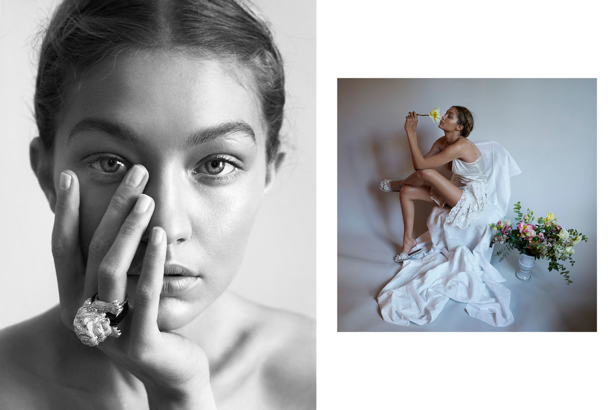 Gigi Hadid x Vogue Germany