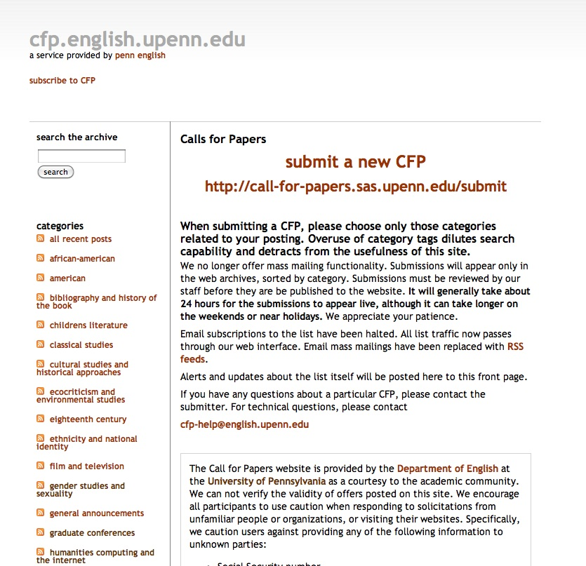 Submitting Proposals to Academic Conferences \u2013 kimknight