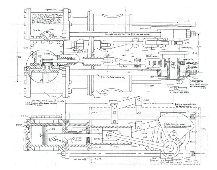 art train engine diagram