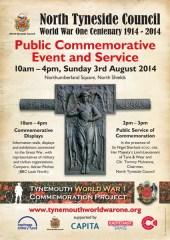 Commemorative event poster