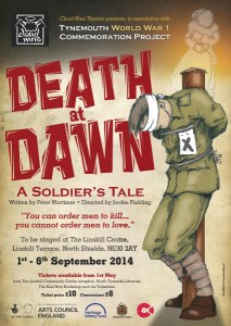 Death at Dawn play poster