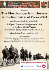 Northumberland Hussars at First Ypres