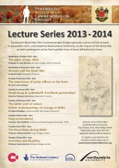 2013-14 Lecture series poster