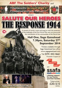The Response 1914 Sage Concert