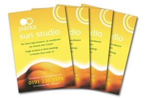 Parks Sun Studio flyer