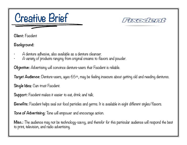 """writing a good creative brief Iii the one rule for writing a good """"statement of case effective brief writing."""