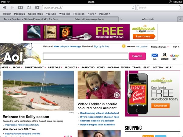 Lots of Adverts