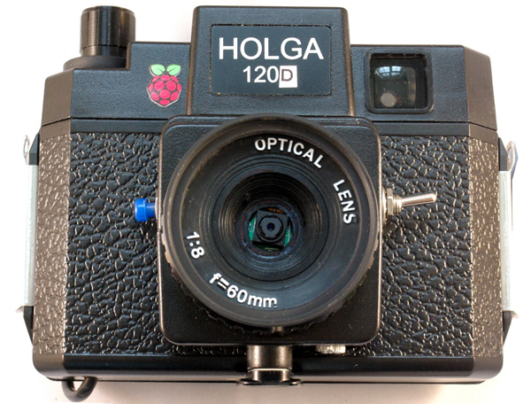 Holga 120 d Raspberry Pi camera