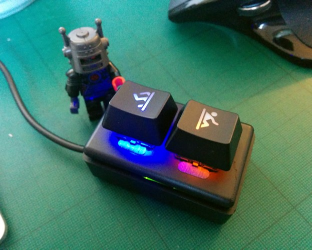 Smallest USB keyboard in the world