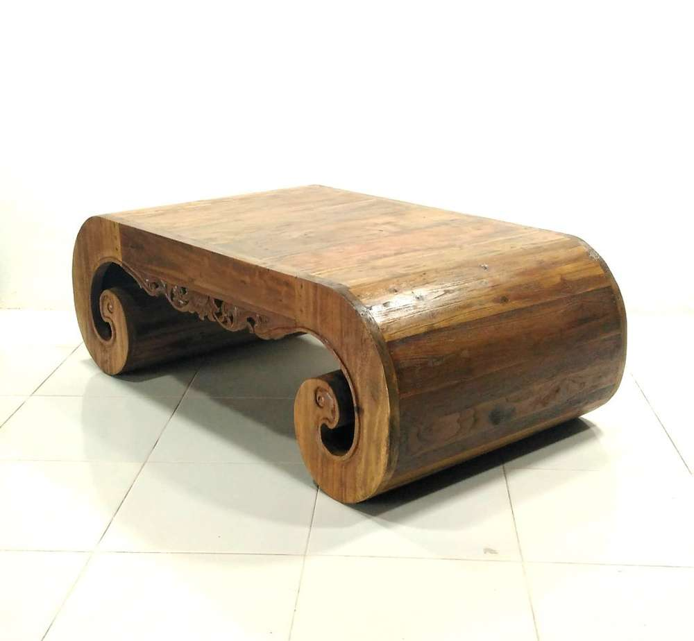 Couchtisch Vintage Wood Old Wood Furniture Teak Coffee Table Irrawady Kinaree