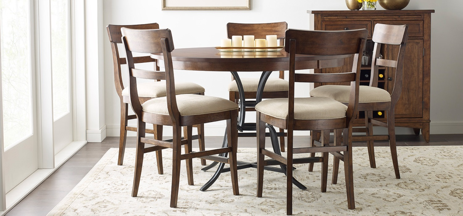Kitchen Counter And Stools The Nook A Casual Kitchen Dining Solution From Kincaid Furniture