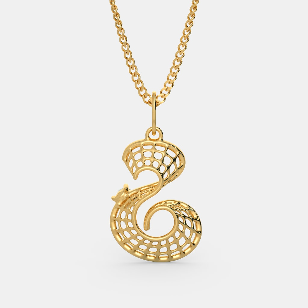 Gold S The Serene S Pendant