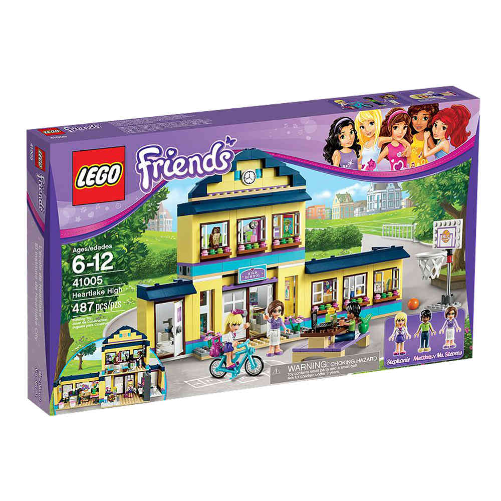 Lego Friends Badezimmer Lego Friends 41005 Heartlake Schule Kinder Onlinemarkt
