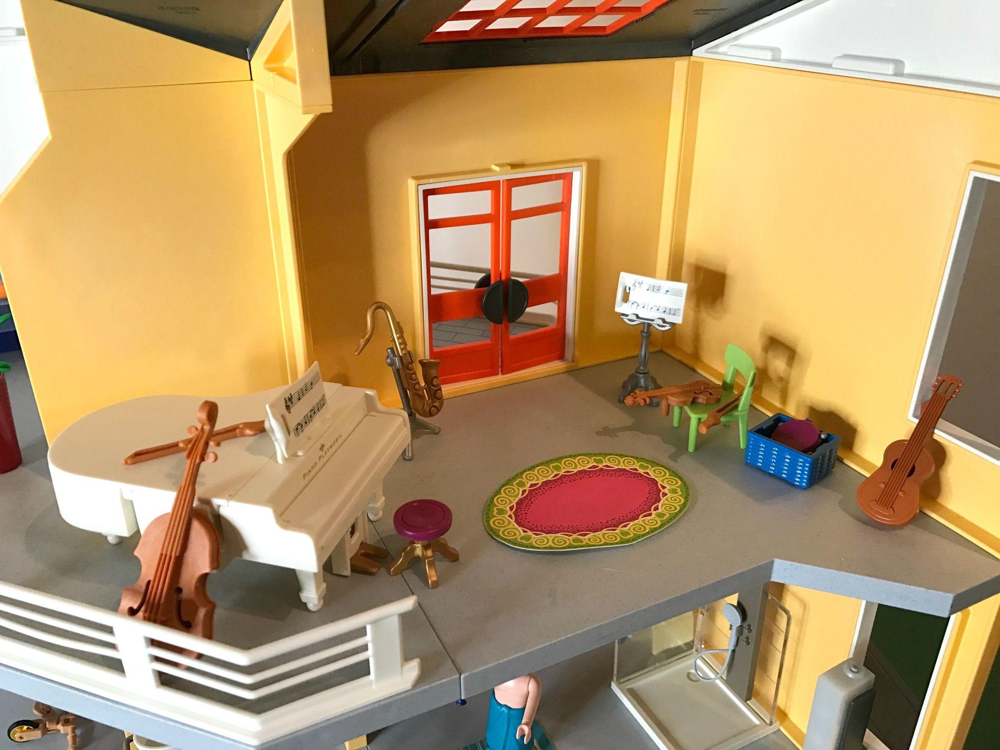 Playmobil Küche Modernes Wohnhaus | Playmobil Küche Villa Kleine ...
