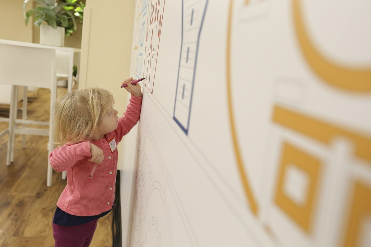 Turn A Wall Into A Whiteboard Writable Walls Yes 3 Ways To Turn Your Walls Into A Creative Canvas