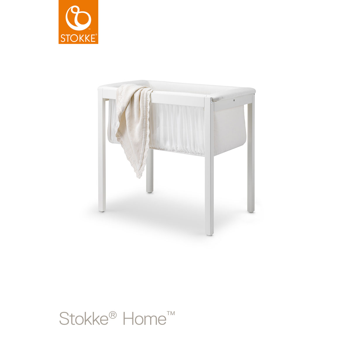 Stokke Wiege Stokke Home Bed Commode And Wieg Wit