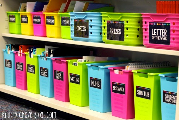 storage containers for teachers
