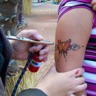 Airbrush Tattoos Bildergalerie 2