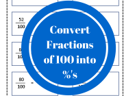 Fractions as a percent