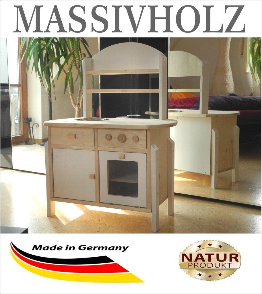 Details Zu Fensterladen Holz Weiss Gartendeko Küche: Kinderküche Spielküche Braun Aus Holz