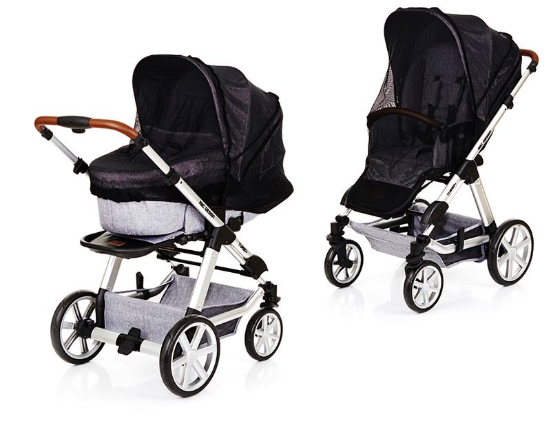 Kombi Kinderwagen 3 In 1 Abc Abc Design Moskitonetz Kindermaxx