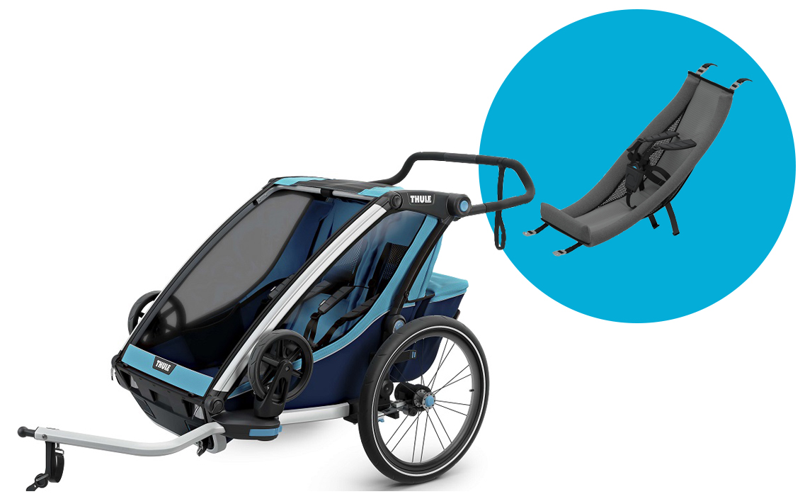 Buggy Joie Leicht Thule Bicycle Trailer Set Thule Babyseat
