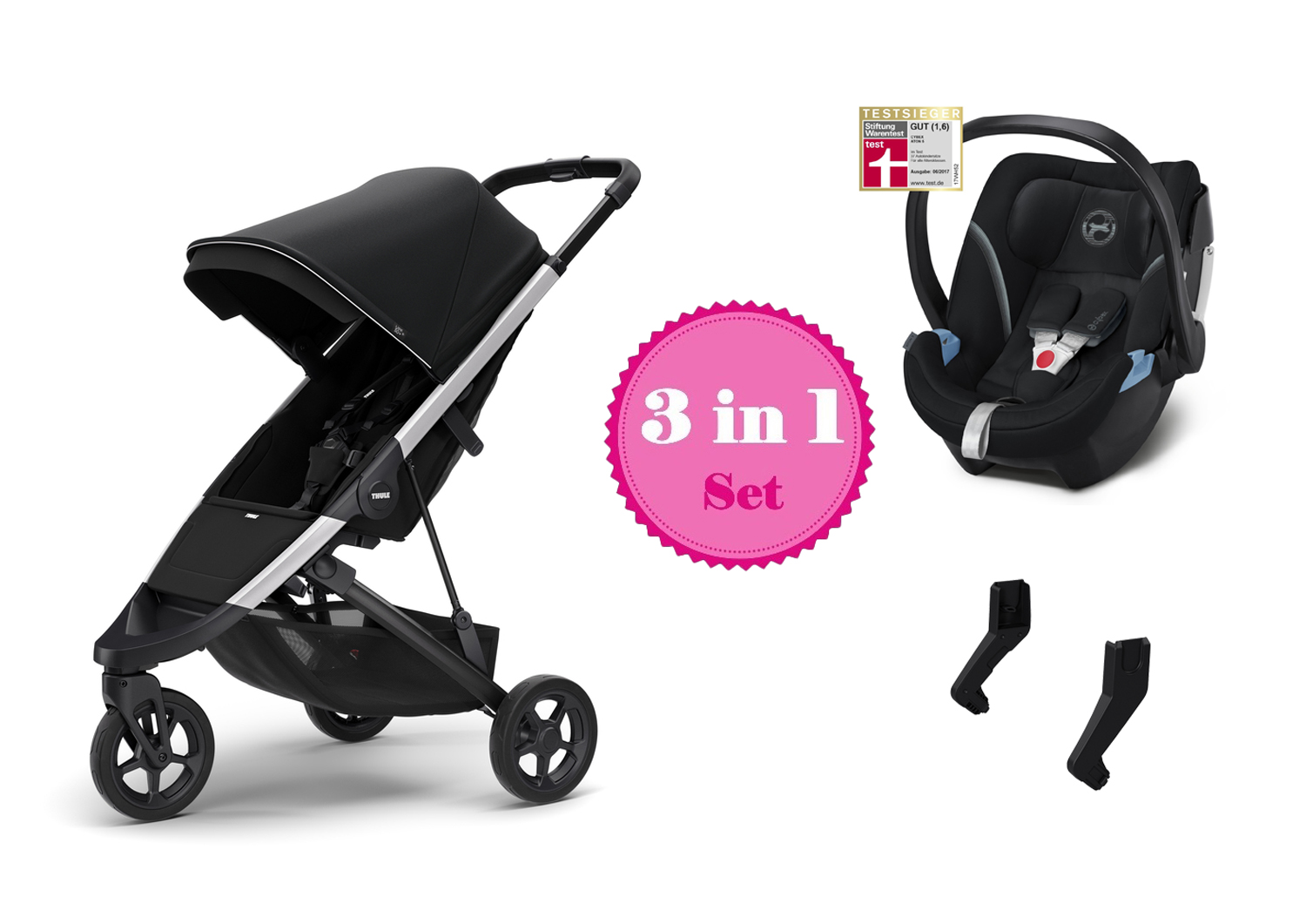 Buggy Test Warentest Thule Spring Buggy Set 3 In 1