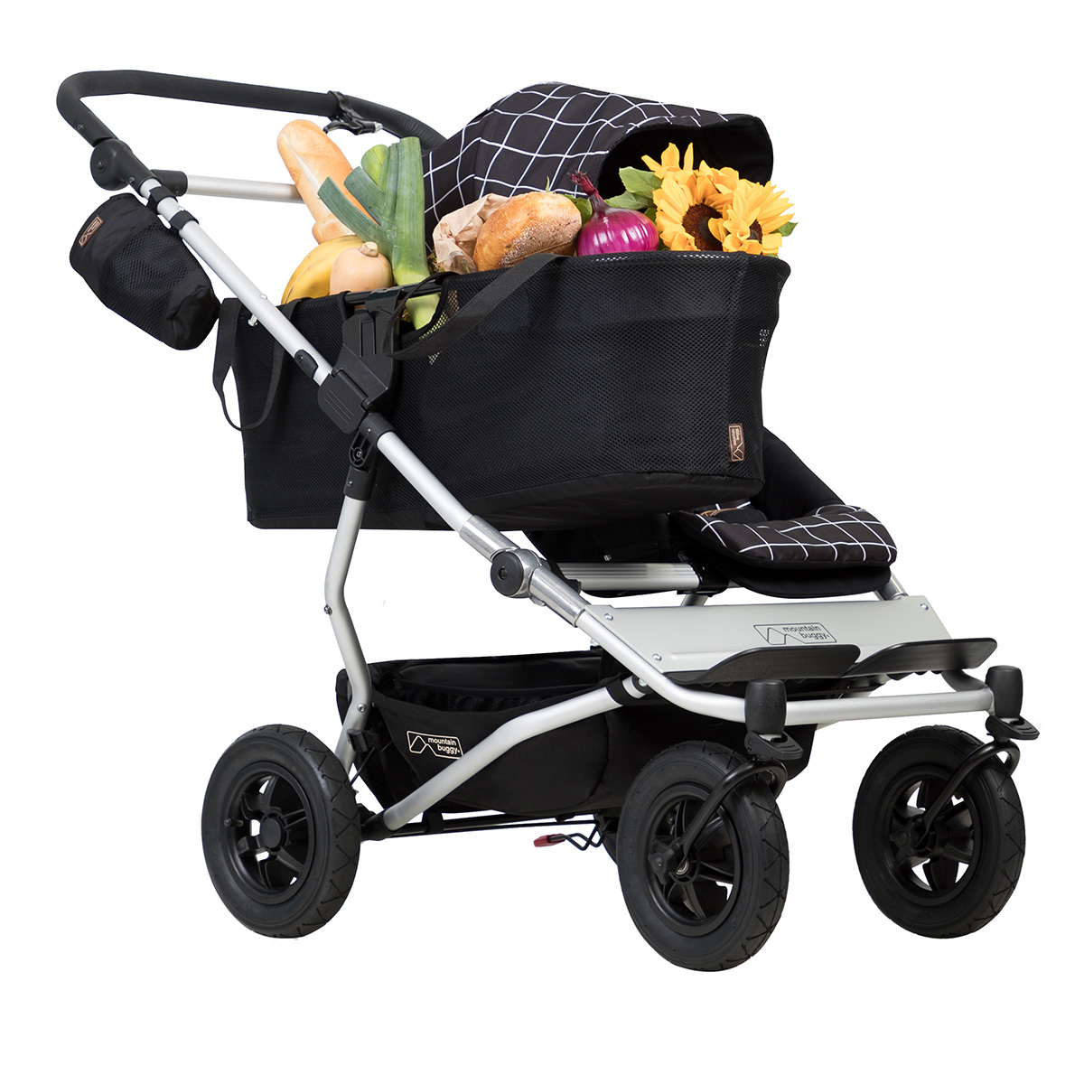 Mountain Buggy Zum Joggen Mountain Buggy Duet Buggy V3 As A Single