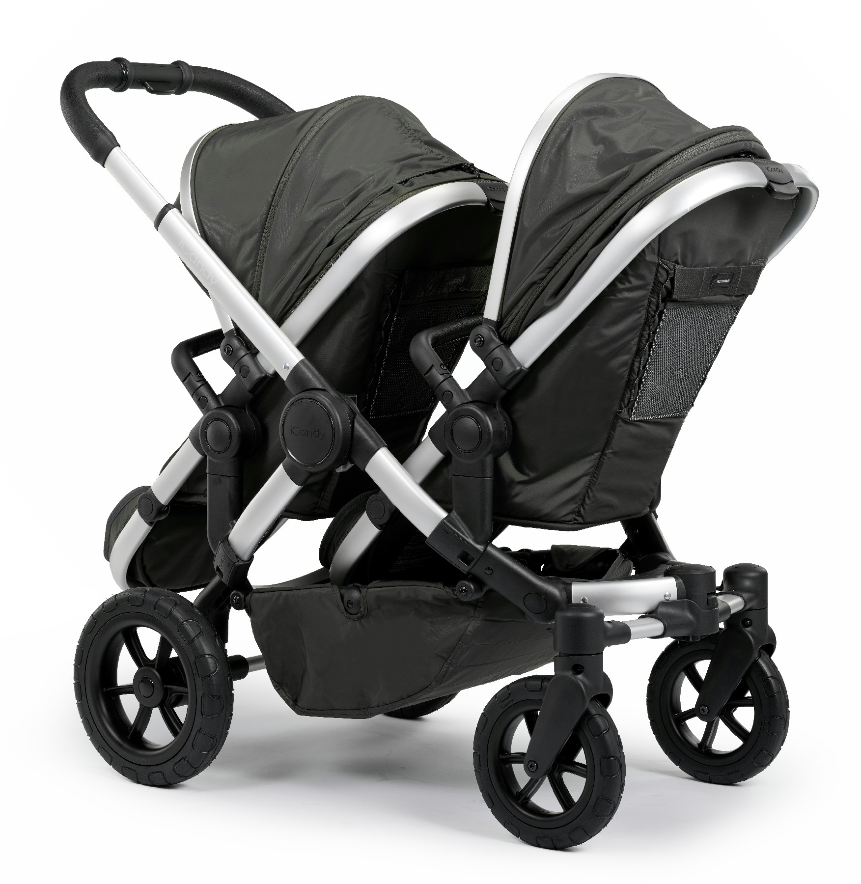 Kinderwagen Easywalker Duo Icandy Peach All Terrain Pushchair Forest Double