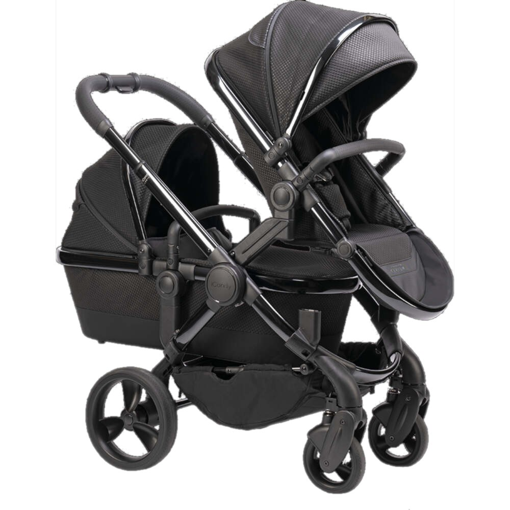 Tweeling Kinderwagen Abc Zoom Icandy Peach Kinderwagen Collectie Cerium Twin