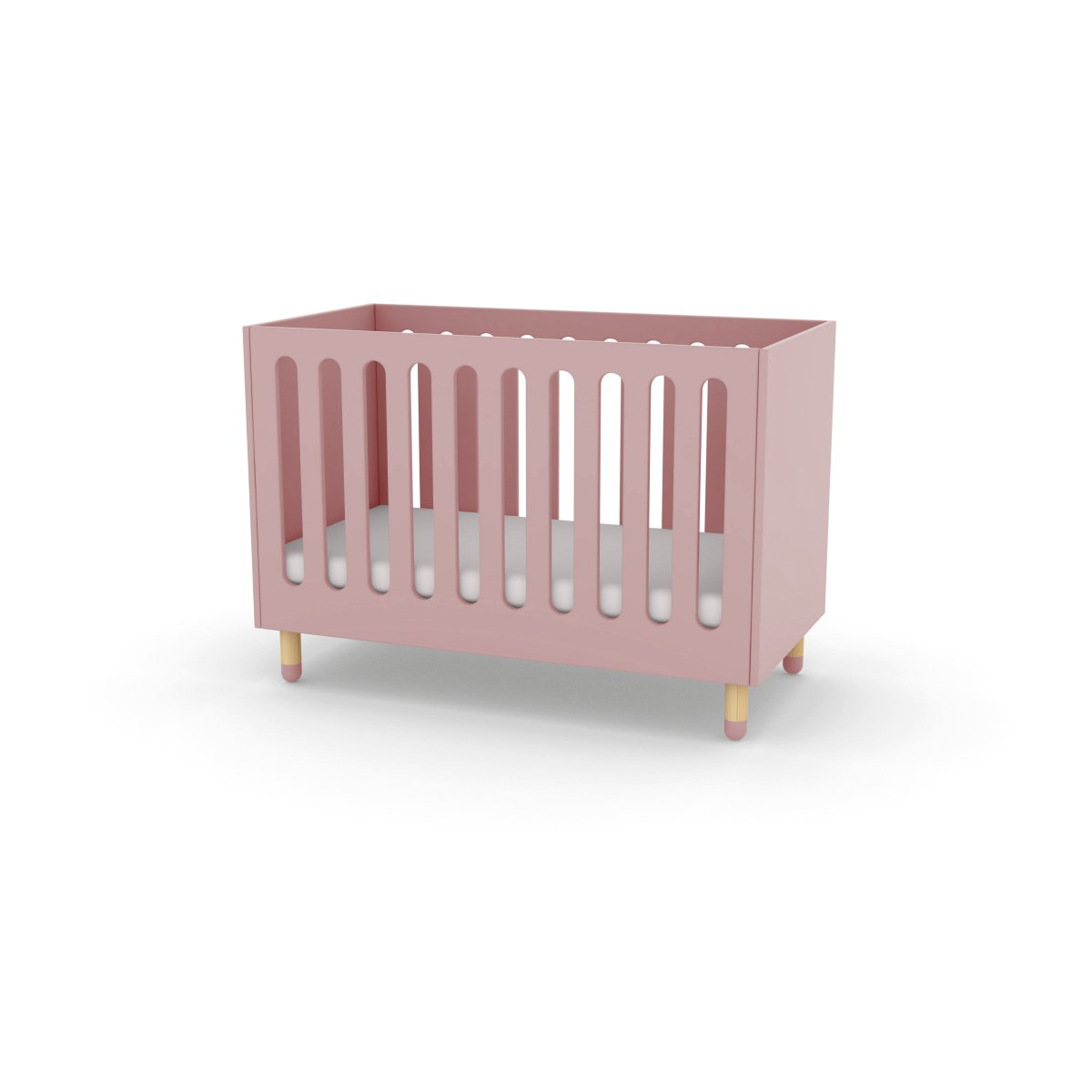Kinderbett 120x60 Flexa Play Kinderbett Babybett In 60x120 Cm Rosa 407