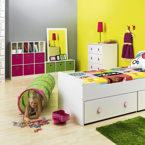 Kinderregal Trixx Weiß Regal Mit 9 Fächern - Kinderregal Weiß