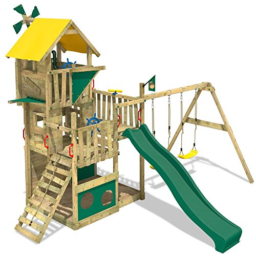 Kinderspielplatz Kaufen Stelzenhaus Wickey Smart Flight » Kinderspielhaus Wickey