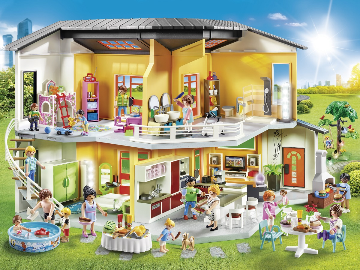 Playmobil Keuken 9269 : Playmobil city life küche playmobil modernes wohnhaus