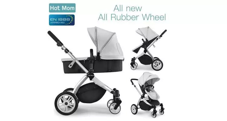 Kombi Kinderwagen Gelände Test Hot Mom Mombikinderwagen 2 In 1 » Elterntest In 2019