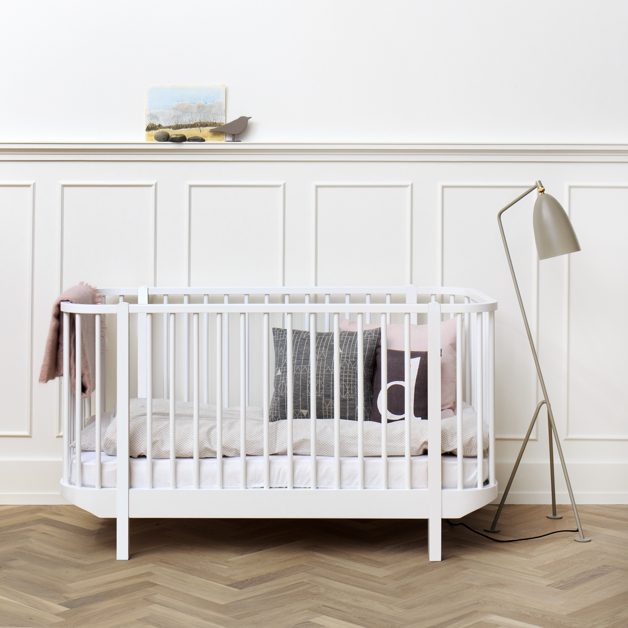 Baby Betten Oliver Furniture Babybett Wood Weiß Kinderbett