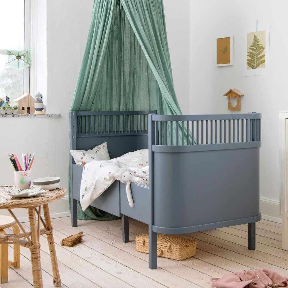 Bett Baby Sebra Bett Baby Und Junior Forest Lake Blue