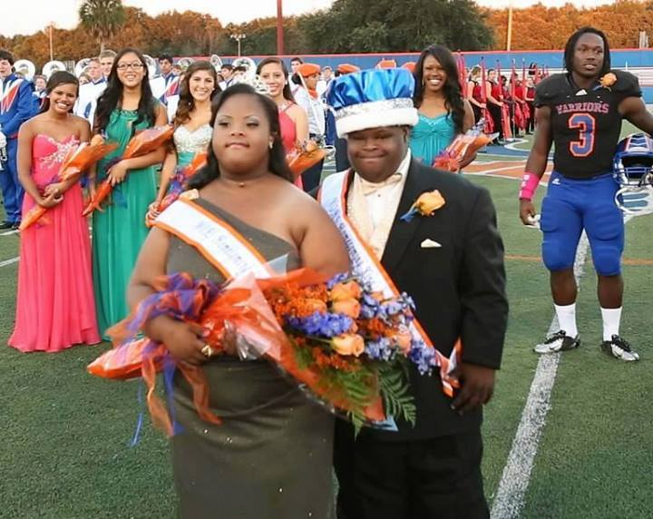 Two High-School Seniors with Down Syndrome Elected Homecoming King