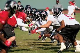 Falcons Training