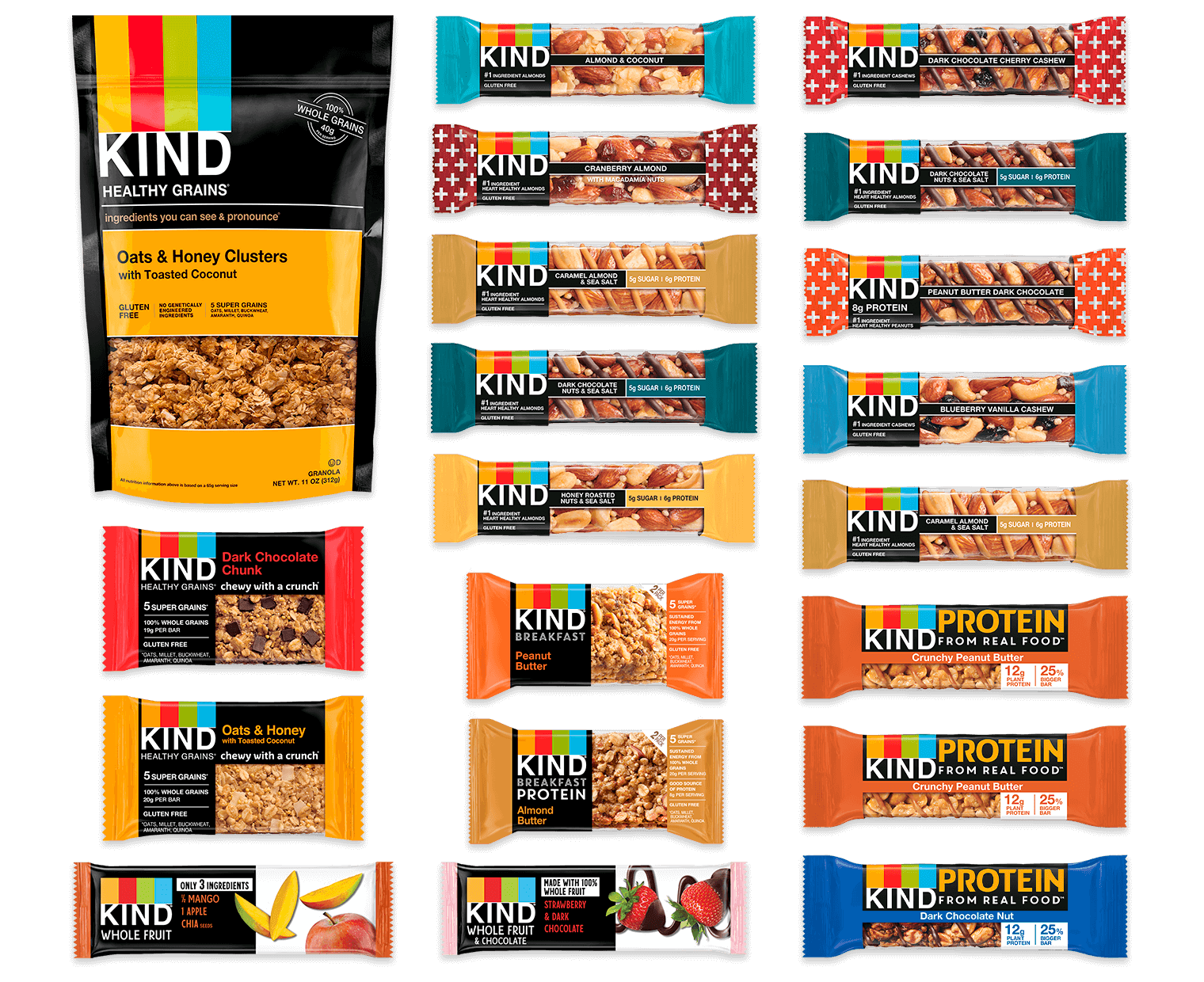 Online Pack Snack Pack Variety Box Kind Snacks Snacks Kind Snacks